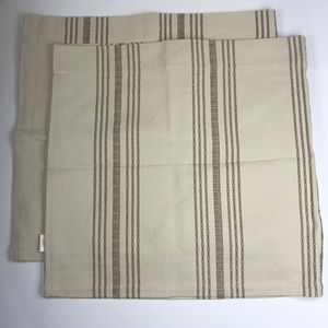 POTTERY BARN Cafe Curtains (sold as a set)